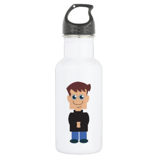 The Norm: Boy Norm Chibi Stainless Steel Water Bottle