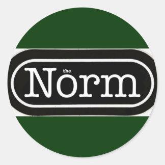 The Norm Logo Sticker