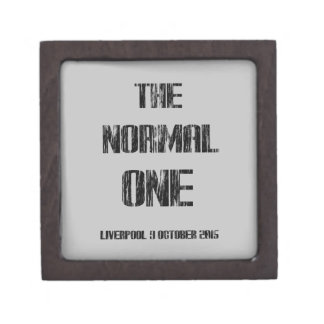 The Normal One Keepsake Box