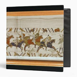 The Norman cavalry attacks the English Vinyl Binder