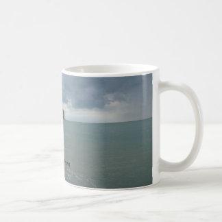 The Normandy coast in France - lesson Petites Dall Coffee Mug