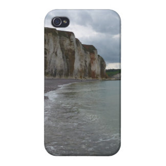 The Normandy coast in France - lesson Petites Dall iPhone 4/4S Covers