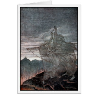 The Norns vanish Greeting Card