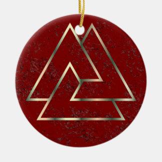 The Norse Valknut Symbol - 1 - Ornament