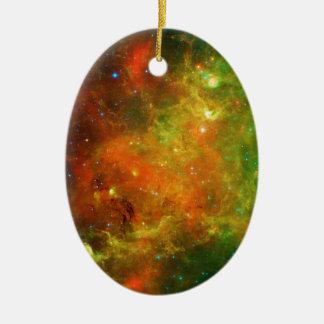 The North America Nebula NGC 7000 Caldwell 20 Ceramic Ornament