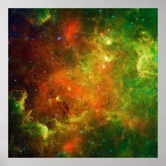 The North America Nebula NGC 7000 Caldwell 20 Poster