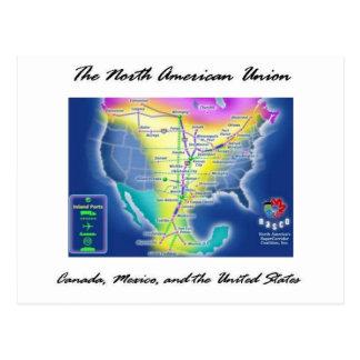 The North American Union Postcard
