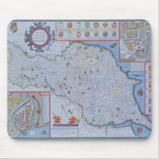 The North and East Ridings of Yorkshire Mousepad