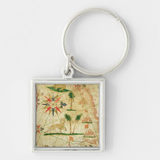 The North Coast of Africa Keychain