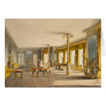 The North Drawing Room, or Music Room Gallery from Greeting Card