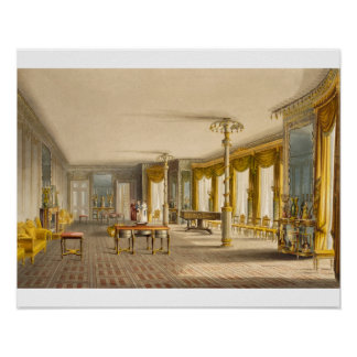 The North Drawing Room, or Music Room Gallery from Poster