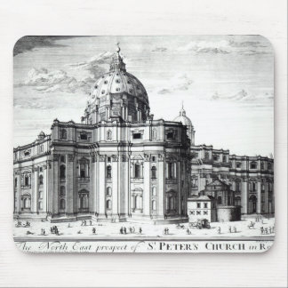 The north east prospect of St. Peter's Church Mouse Pad