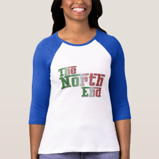 The North End Italy Womens Raglan T-Shirt