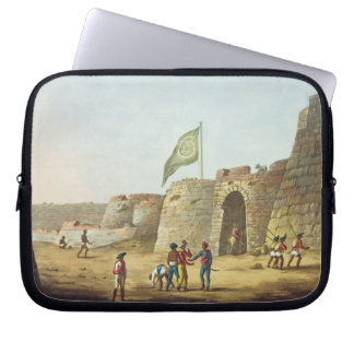 The North Entrance into the Fort of Bangalore, pla Computer Sleeves