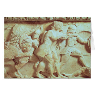 The north frieze of the Siphnian Treasury Card