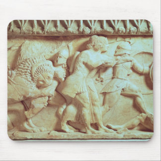 The north frieze of the Siphnian Treasury Mouse Pad