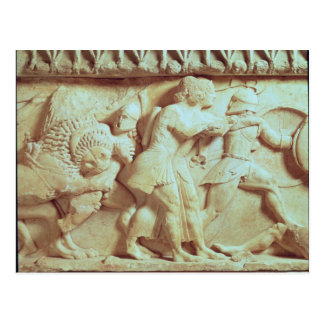The north frieze of the Siphnian Treasury Postcard