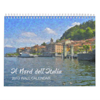 The North of Italy Calendar 2013