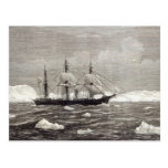 The North Pole Expedition Postcard