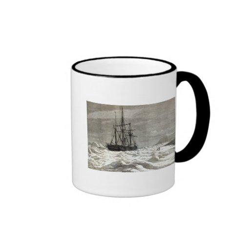 The North Pole Expedition Ringer Coffee Mug