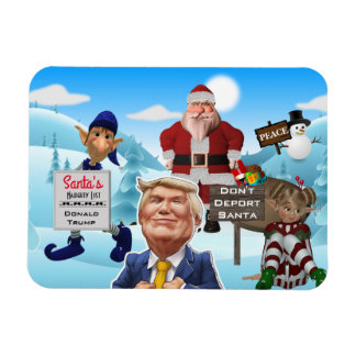 The North Pole Protests Trump Magnet