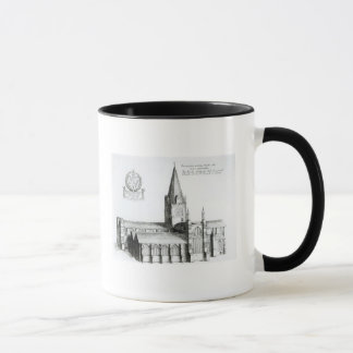 The North Prospect of Conuentuall Mug