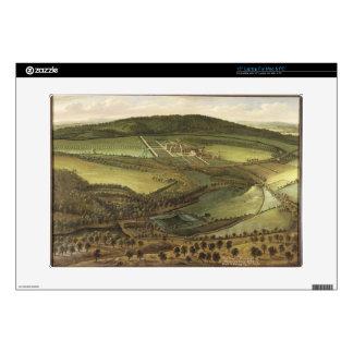 "The North Prospect of Hampton Court, c.1699 (oil o 15"" Laptop Skins"