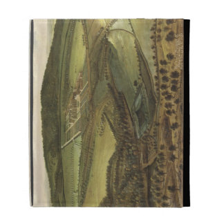 The North Prospect of Hampton Court, c.1699 (oil o iPad Folio Covers