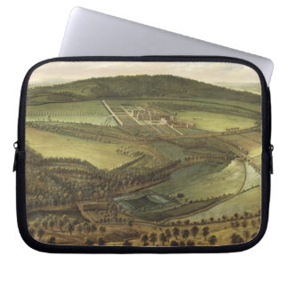 The North Prospect of Hampton Court, c.1699 (oil o Laptop Sleeves