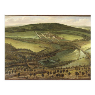 The North Prospect of Hampton Court, c.1699 (oil o Postcard