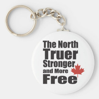The North Truer Strong and more Free Keychains