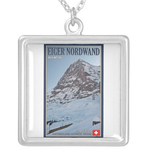 The North Wall of the Eiger Custom Necklace