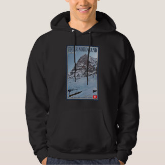 The North Wall of the Eiger Hoodie