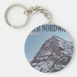 The North Wall of the Eiger Keychains