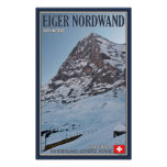 The North Wall of the Eiger Poster