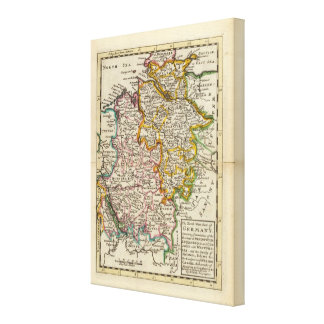 The north west part of Germany Canvas Print