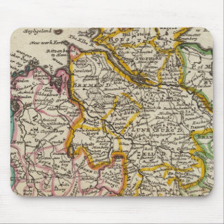 The north west part of Germany Mouse Pad
