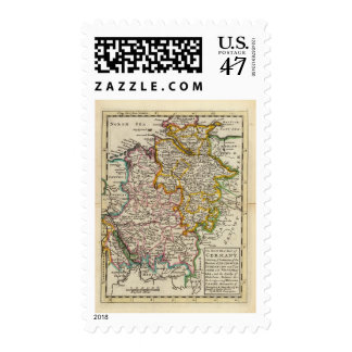 The north west part of Germany Postage