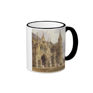 The North-West Porch of Salisbury Cathedral, 1832 Coffee Mugs