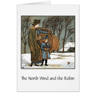 The North Wind & The Robin, Card