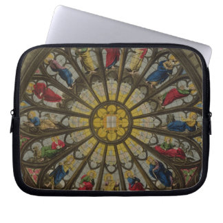 The North Window, plate D from 'Westminster Abbey' Computer Sleeves