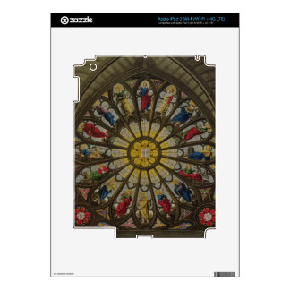The North Window, plate D from 'Westminster Abbey' iPad 3 Skins