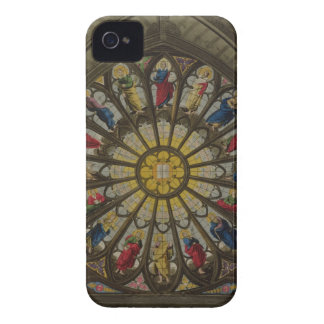 The North Window, plate D from 'Westminster Abbey' iPhone 4 Case-Mate Case