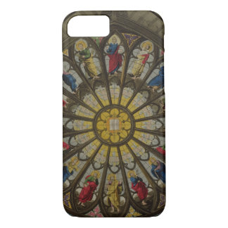 The North Window, plate D from 'Westminster Abbey' iPhone 7 Case