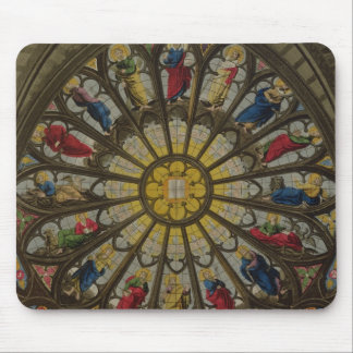 The North Window, plate D from 'Westminster Abbey' Mouse Pad