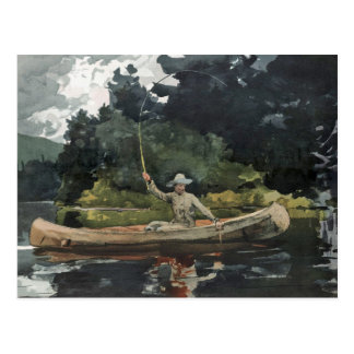 The North Woods by Winslow Homer Post Cards