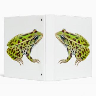 The Northern Leopard Frog Binder