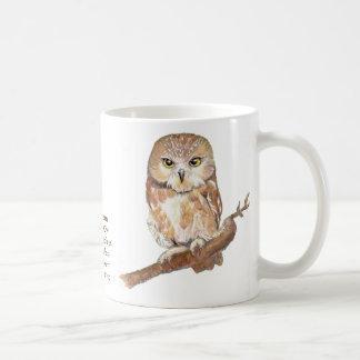 The Northern Saw-whet Owl Mug