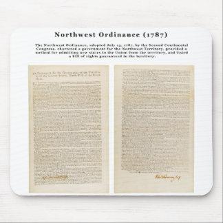 The Northwest Ordinance 1787 Mouse Pad