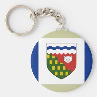 the Northwest Territories, Canada Keychain